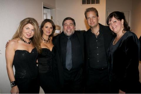 Adrienne Papp, Jennifer Cantrell, Steve Wozniak (Founder of Apple),Bob Olejar, Mrs. Wozniak